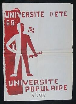 Original Poster May 68 Universite Of Universite Popular Poster 1968 465