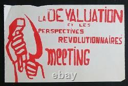 Original Poster Meeting May 68 Depreciation Communist League Post 1968 298