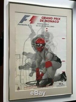 Original Poster Of F1 Monaco Grand 2002 Price