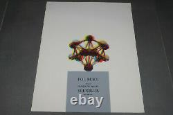 Original Poster Pol Bury Gallery Mayer 1967, Abstract Art Lithography Poster
