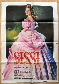 Original Poster Post Sissi's Most Successful Film Of Romy Schneider