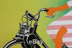 Original Poster Poster Solex Velosolex 120x160cm Entoilée René Ravo 1953 1964