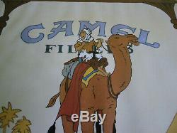 Original Poster Tintin Camel Fernando Bellver. Edition 1990