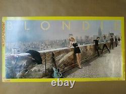 Original Promo Poster Affiche Blondie Autoamerican 1980 Debbie Harry