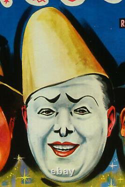 Original Vintage Poster Circus Circus 59, Vintage Circus Posters