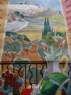 Original Vintage Poster Post Jal 1945 Sncf Provence 62 X 100 CM