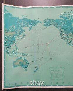 Pan American Airways System Poster Old/original Poster 1963