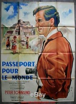 Passport To The World Cinema Displays Original / French Movie Poster Stoloff