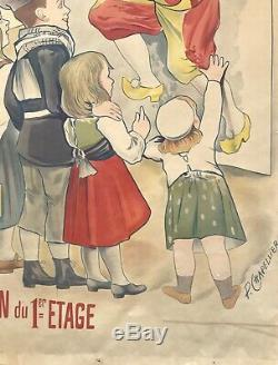 Philippe Chapellier Displays 1899 Department Stores Agen Original French Post