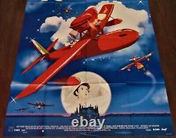 Porco Rosso Original 120x160cm Poster One Sheet 47 63 Miyazaki Ghibli