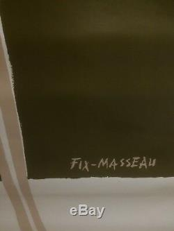 Poster Fix Masseau Original Vintage Poster Shoes Bally 118x168 1979