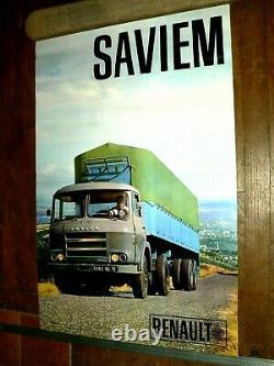 Poster Former Saviem Truck Photo Soulet Poster Truck Lkw