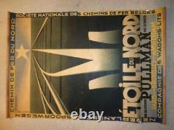 Poster Old Cassandre North Star 1927 Original Poster