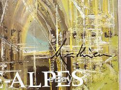 Poster Original Poster France Rhone Alpes Cathedrale Georges Mathieu