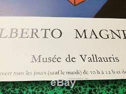 Poster Original Poster Set Of 2 Alberto Magnelli Museum Of Vallauris