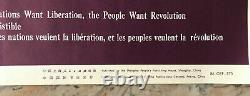 Poster Poster Original Propaganda Support The Struggle Of The Palestinian Arab