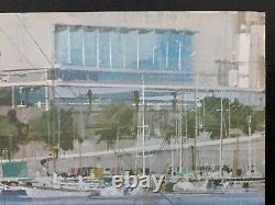 Rare Original Poster Monaco Grand Prix 1968 Michael Turner F1 J. Ramel Nice