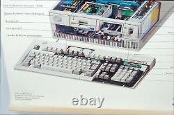 Rare Poster IBM France Original Ps/2 Model 70 8570