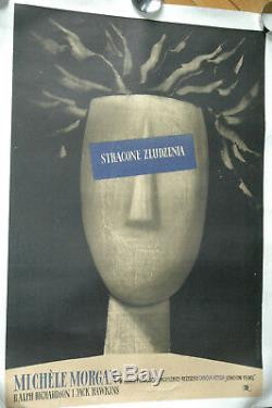 Roman Cieslewicz The Fallen Idol 1948 Polish Poster Original Poster