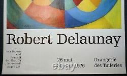 Set Of 2 Original Posters Robert Delaunay 1976 And Sonia Delaunay Poster Print
