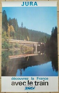Set Of 7 Old Train Posters Sncf Buffet Cote D'azur. /original Posters