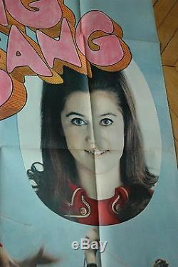 Sheila Bang Bang Rare 1967 Poster French Original Poster