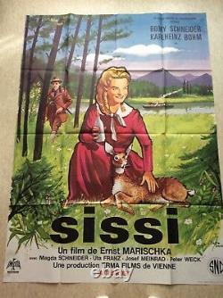 Sissi Poster Cinema 1955 Romy Schneider Original Movie Poster