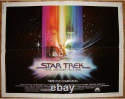 Star Trek The Motion Picture / Half Sheet / Poster / Original