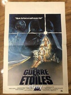 Star Wars / Star Wars / 40x60 / Poster / Original 77
