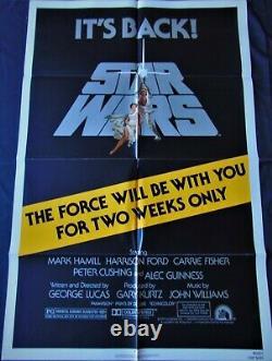 Star Wars Star Wars Poster 68x101cm Us Original Post One Sheet 2740