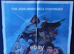 Star Wars V Empire Attack Us Original Poster 68x104cm Poster One Sheet 2741