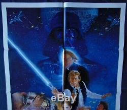 Star Wars VI Return Jedi Poster 68x104cm Us Original Post One Sheet 27 41