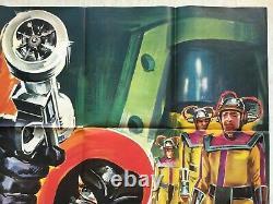 Superargo Vs. Robots (cinema Poster Eo 1967) Santo Original Movie Poster