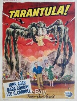 Tarantula Displays Original Belgian Belgian Movie Poster 1955 Jack Arnold