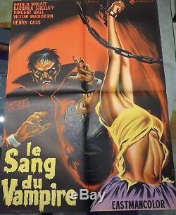 The Blood Of The Vampire / Blood Of The Vampire / 60x80 Original / Poster / Display