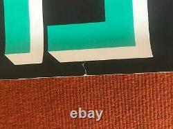 The Clash Black Market Poster Original Authentic 1980 Vintage Poster