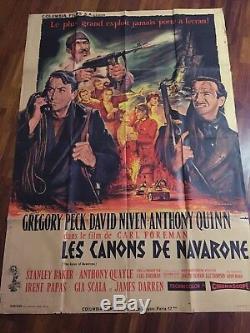 The Guns Of Navarone / Poster / Display / Cinema / Original 120x160