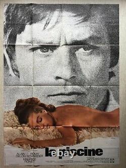 The Pool Original Movie Poster Eo 1968 Delon Schneider Movie Poster