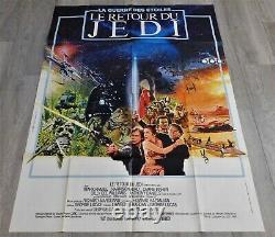 The Return Of The Jedi Poster Original Poster 120x160cm 4763 1983 Star Wars Ford
