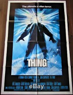 The Thing Poster 68x104cm Us Original Post One Sheet 2741