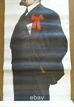 Ussr Lenin/lenine 1870-1970 Original Soviet Poster/poster Former Ussr 1969