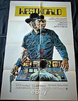 Westworld Poster 68x101cm Original Post One Sheet 2740