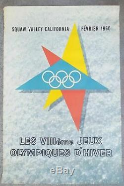Winter Olympic Games / 7 Olympic Games Old Posters / Original Posters