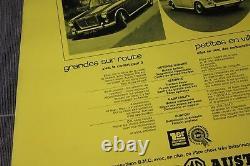 (b) Original Vintage Poster Displays 1100 Bmc Princess Riley Wolseley Morris