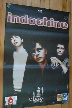 10 Affiches Indochine Un Jour Dans Notre Vie 1993 Rare Posters Original Lot