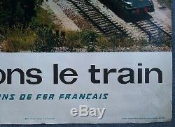 2 affiches anciennes/original posters travel France Monte Carlo Cote d'Azur SNCF