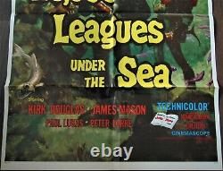 20000 Lieues Sous les Mers Affiche ORIGINALE US 68x104cm POSTER One Sheet 2741