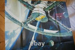2001 A Space Odyssey Stanley Kubrick 1968 Poster Affiche Original