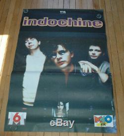 5 Affiches Indochine Un Jour Dans Notre Vie 1993 Rare Posters Original Lot