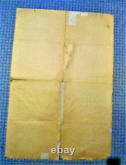 AFFICHE AUTHENTIQUE WW2 / ORIGINAL POSTER / 1m X 70cm